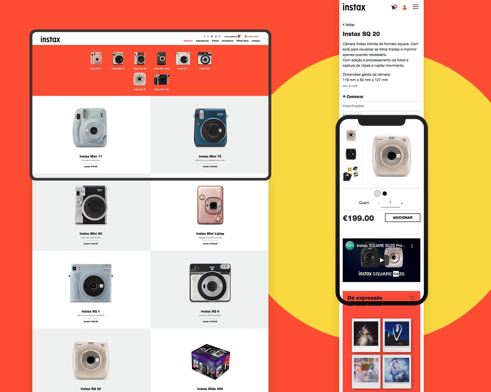 Instax | Online Store
